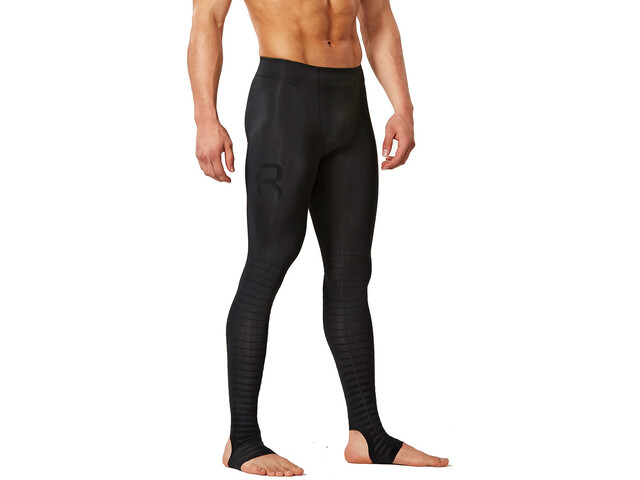 2XU Power Recharge Recovery Tights long Men, black/nero